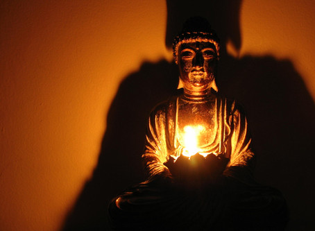 Dharma o lezení po stínu Buddhy