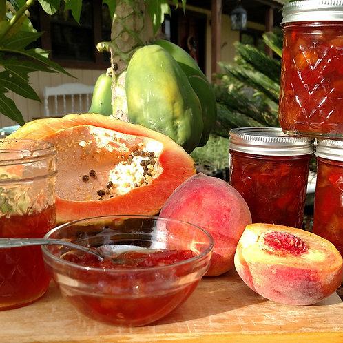 Papaya-Peach Jam