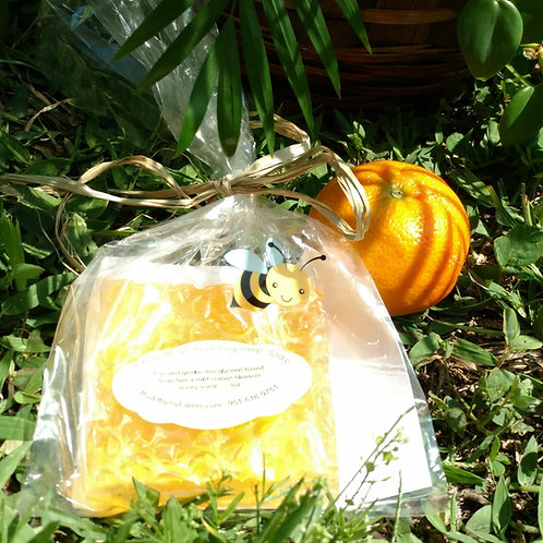 Orange-Honeycomb Glycerin Soap