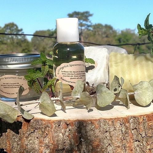 Eucalyptus-Spearmint Soap