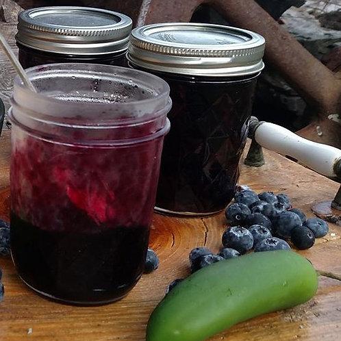 No Sugar Added Blueberry-Jalapeno