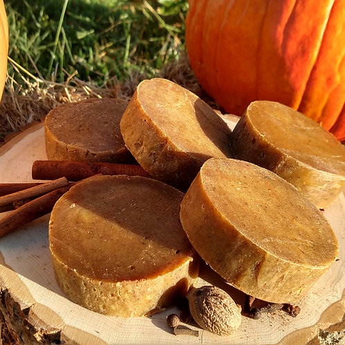 Pumpkin Spice Goat's Milk Soap
