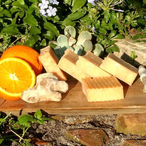 Orange-Ginger Soap