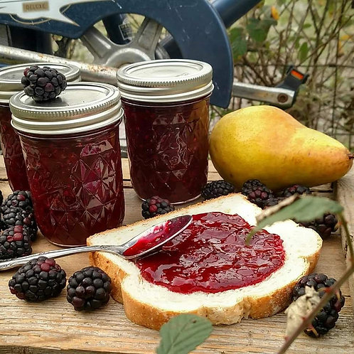 Blackberry-Pear Jam