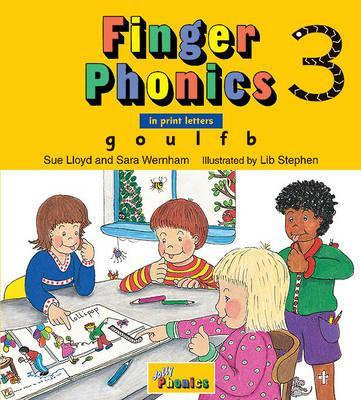 Jolly Finger Phonics 3: G O U L F B