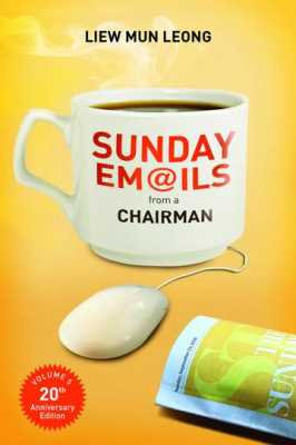 Sunday Emails from a Chairman