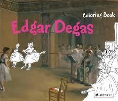 Coloring Book - Edgar Degas