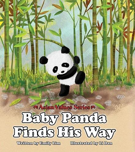 Baby Panda Finds His Way