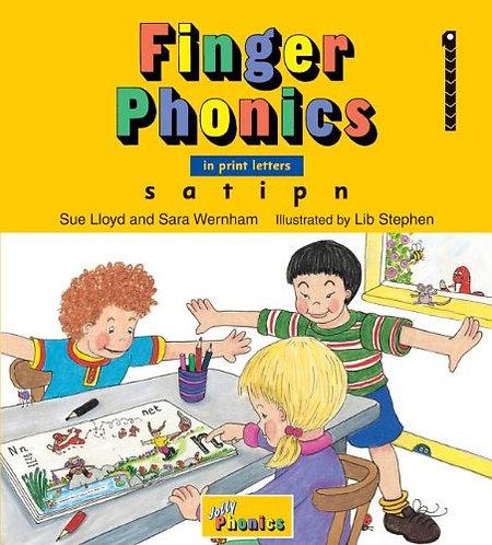 Jolly Finger Phonics 1: S A T I P N