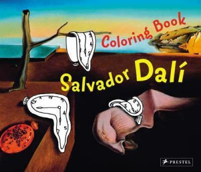 Coloring Book - Salvador Dali