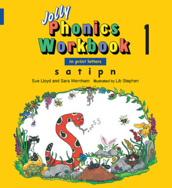 Jolly Phonics Workbook 1 (In Print Letters)