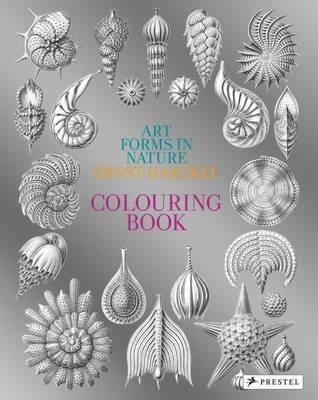Art Forms In Nature: Ernst Haeckel Colouring Book