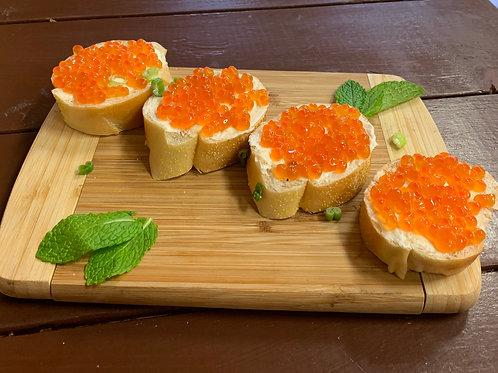 Caviar Bruschettas