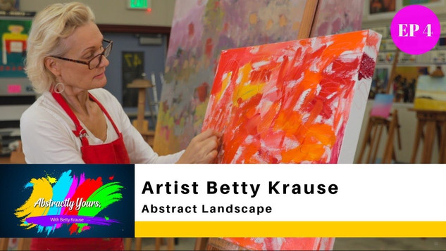 ABSTRACT LANDSCAPE / BETTY KRAUSE