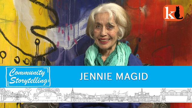 """""""I DON'T WANT PEOPLE TO SUFFER LIKE I DID"""" / JENNIE MAGID"""