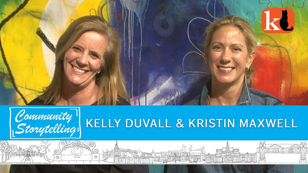 GOOD KIDS EXPERIMENT, LET'S TALK ABOUT IT  /  KELLY DUVALL & KRISTIN MAXWELL
