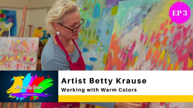 MIXING AND COMPARING COLORS / ARTIST BETTY KRAUSE
