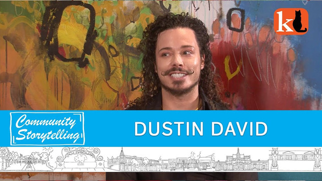 ARTS & EDUCATION ARE MY THING / DUSTIN DAVID