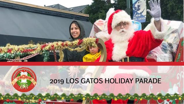 63RD ANNUAL LOS GATOS CHILDREN'S CHRISTMAS/HOLIDAYS PARADE 2019