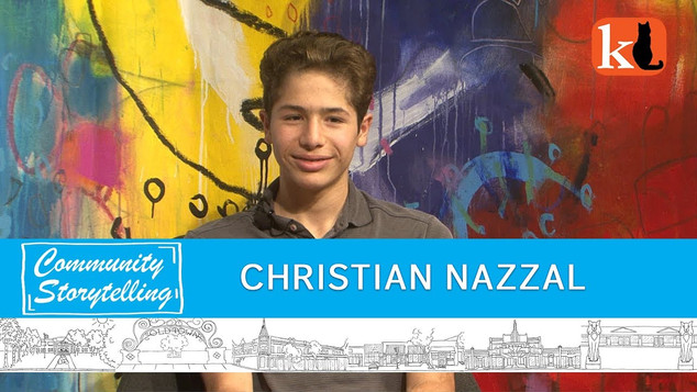 MAYBE A POLITICIAN, MAYBE A GAME DEVELOPER / CHRISTIAN NAZZAL