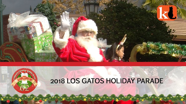 62ND ANNUAL LOS GATOS CHILDREN'S CHRISTMAS & HOLIDAY PARADE 2018