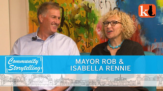 MAYOR ROB AND ISABELLA RENNIE