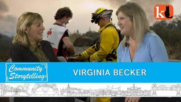 VIRGINIA BECKER / RED CROSS VOLUNTEER