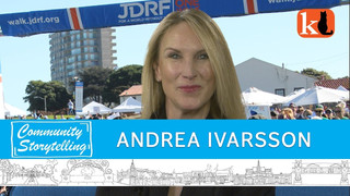 VOLUNTEERING TO FIND A CURE / ANDREA IVARSSON