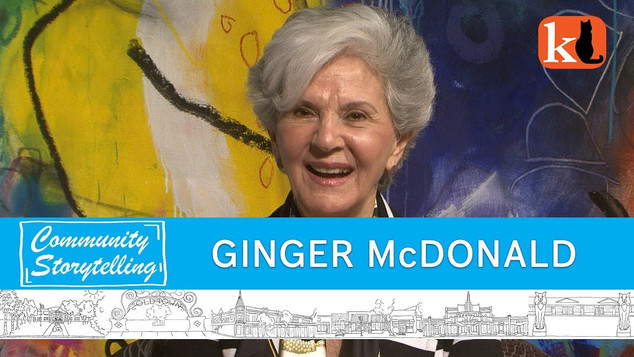 """""""I AM PASSIONATE ABOUT A LOT OF THINGS""""  /  GINGER TAYLOR McDONALD"""
