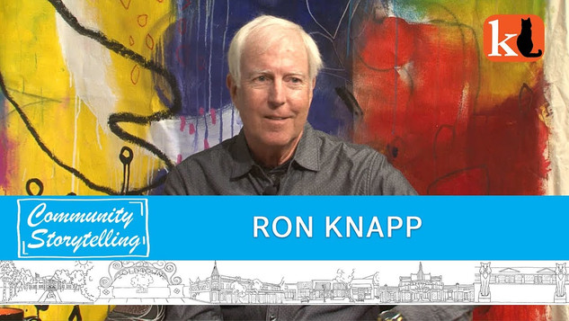 HAPPIEST WHEN I CAN DANCE / RON KNAPP
