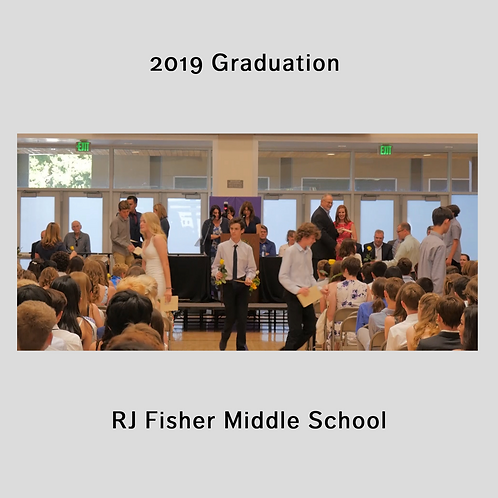 2019 Fisher Middle School Graduation Video