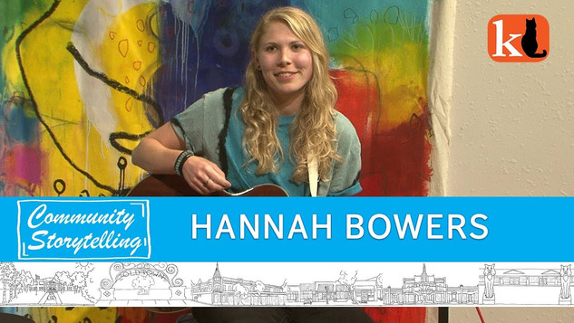 """I HAVE A """"DIY"""" APPROACH TO SINGING & SONGWRITING / HANNAH BOWERS"""