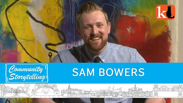 """""""I TRY REALLY REALLY HARD TO BE FUNNY"""" / SAM BOWERS, ENTERTAINER"""