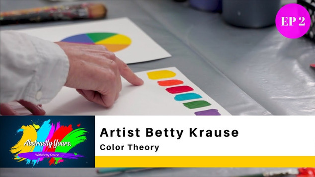 COLOR THEORY / ARTIST BETTY KRAUSE