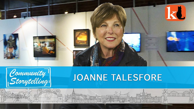 JOANNE TALESFORE / ARTS & CULTURE IN OUR TOWN