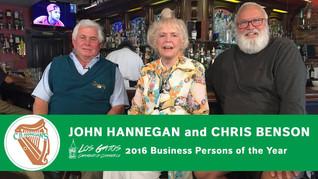REMEMBERING CB HANNEGANS / JOHN HANNEGAN & CHRIS BENSON