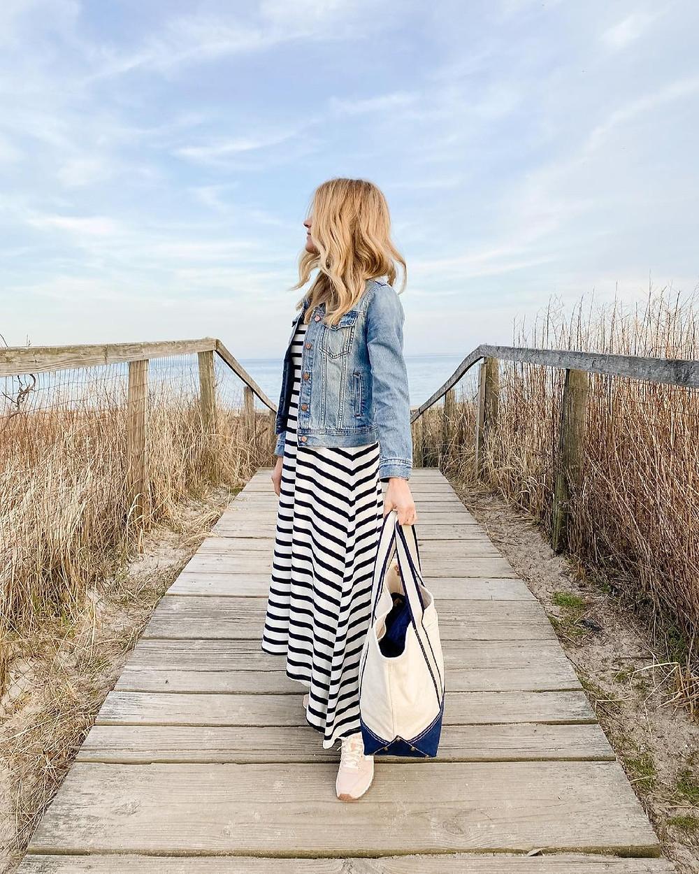 beach style blogger