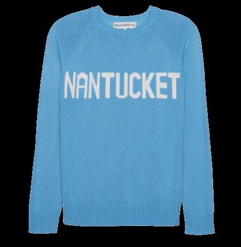nantucket packing list sweater