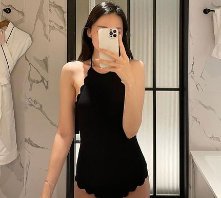 The Only Swimsuit You Need for Travel: The Black One-Piece