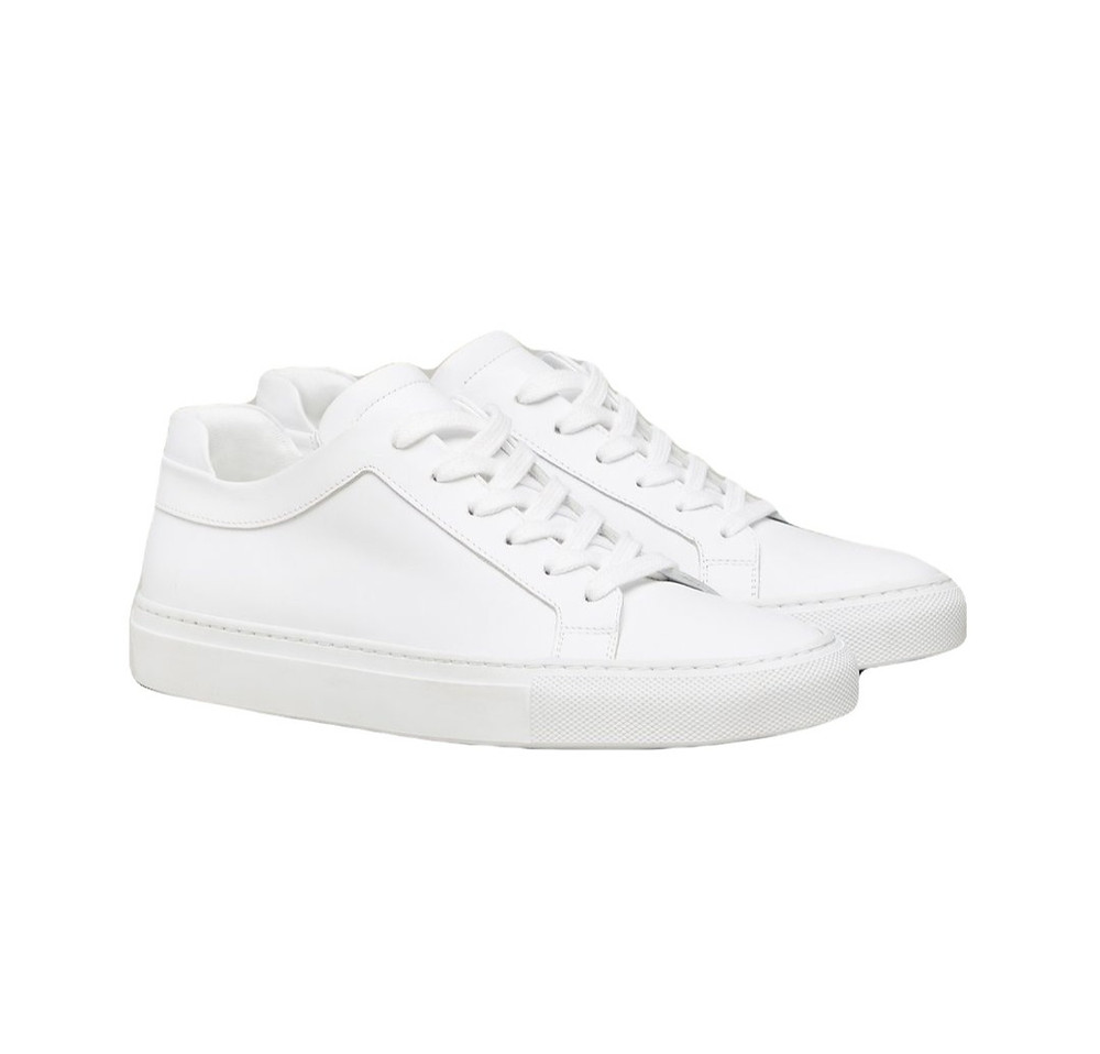 M.Gemi white leather sneakers