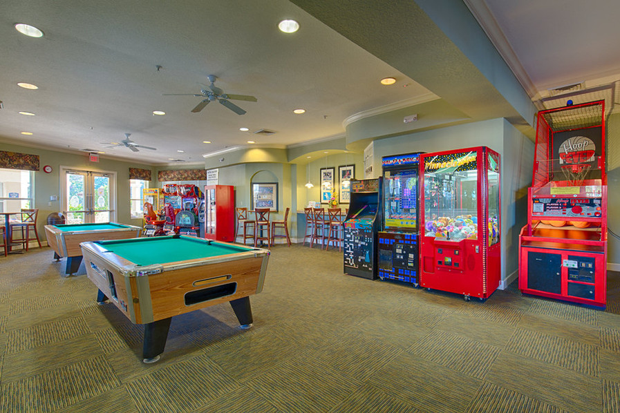 Games Room and Pool Tables