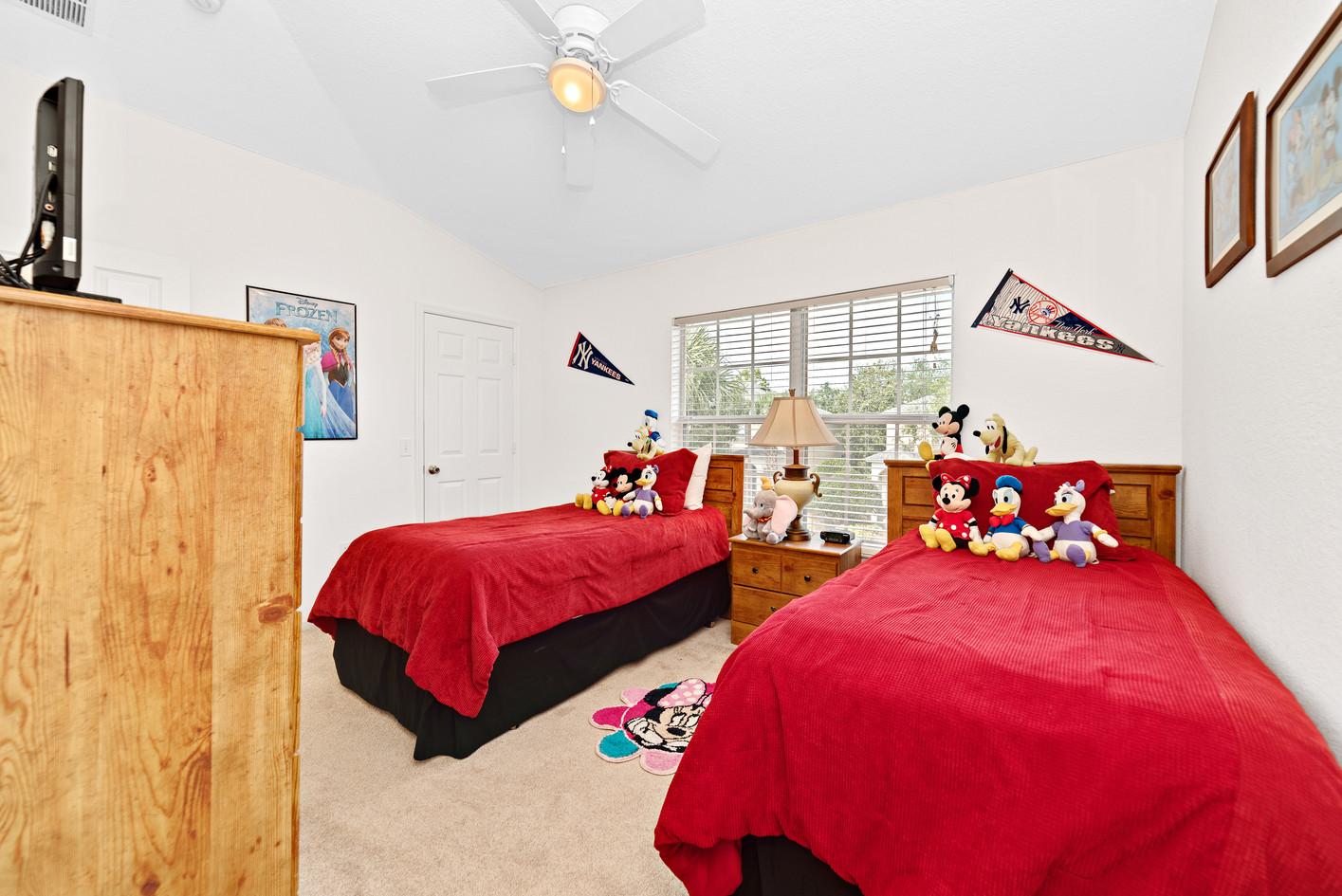 Twin Bedroom...