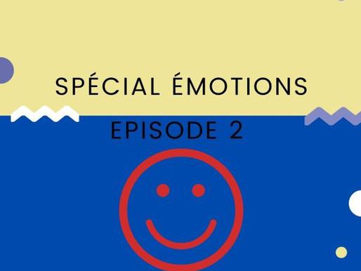 Bienvenue dans mon atelier spécial émotions épisode 2