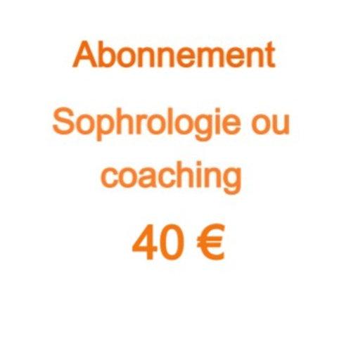 Abonnement 40 €