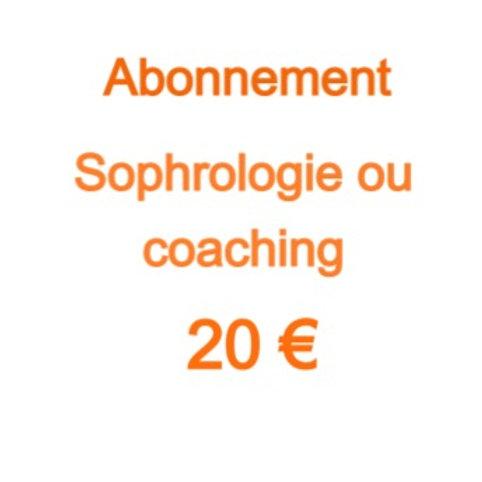 Abonnement 20€