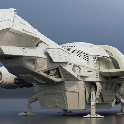 """Firefly Class Transport """"Tranquility"""""""