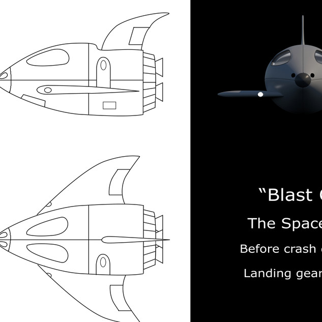 Blast Off Ship