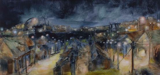 Village Skyline - sold