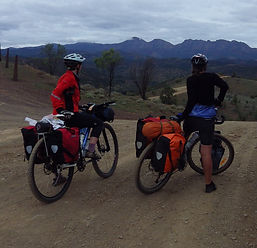 Mountain bike the Mawson trail 2014