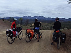 Mawson trail by mountain bike